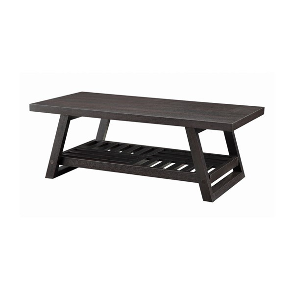 Coaster Furniture Cappuccino Coffee Table CST-701868
