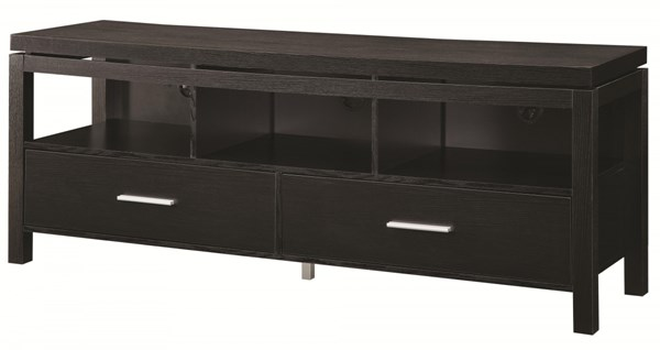 Coaster Furniture Wood TV Console with 2 Drawers and 3 Shelves CST-701970-71-ENT