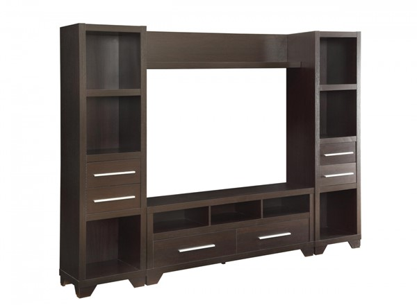 Coaster Furniture Cappuccino Entertainment Center CST-703301-2-3-ENT