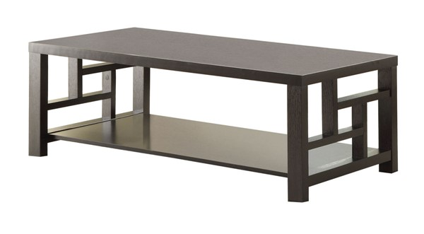 Coaster Furniture Cappuccino Wood Coffee Table CST-703538
