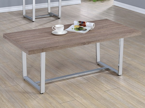Coaster Furniture Taupe Coffee Table CST-704188