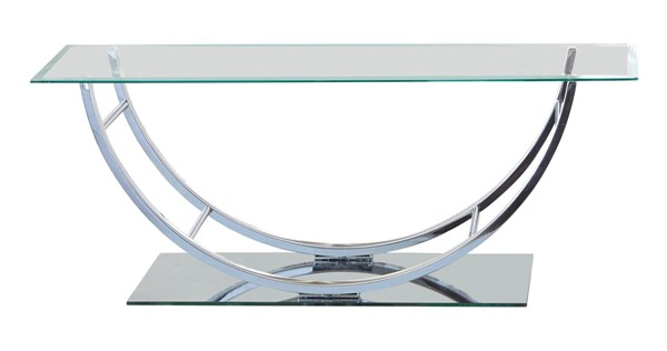 Coaster Furniture Metal Glass Coffee Table CST-704988