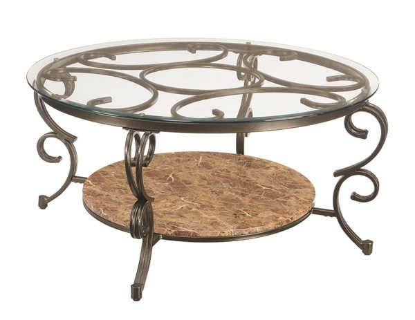 Coaster Furniture Gertrude Brown Coffee Table CST-705148