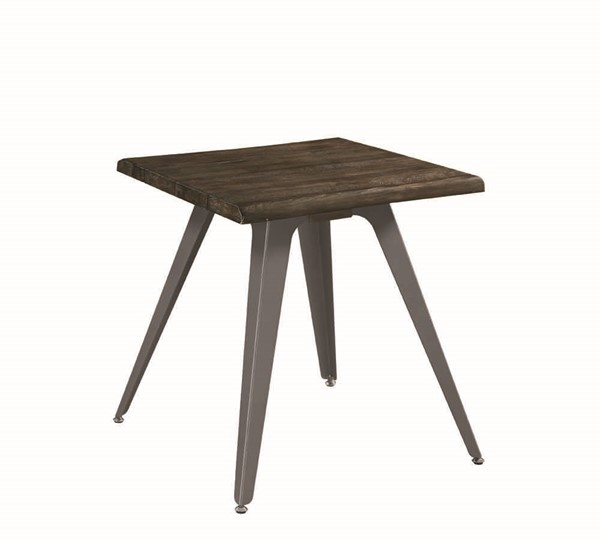 Coaster Furniture Dark Brown Solidwood Top Square End Table CST-705817