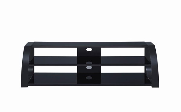 Coaster Furniture Black 60 Inch TV Console CST-708072