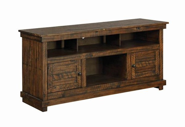 Coaster Furniture Antique Brown TV Console CST-708502