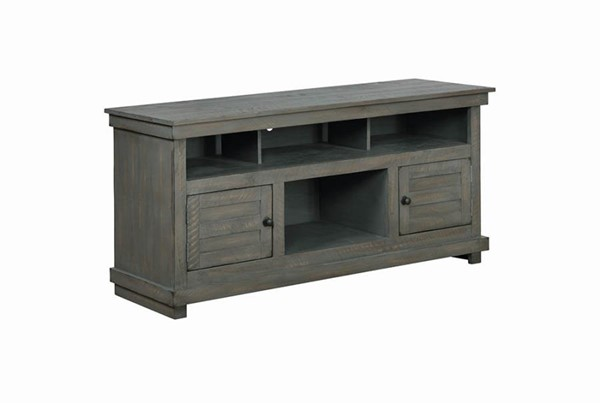Coaster Furniture Antique Grey TV Console CST-708522