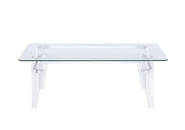 Coaster Furniture Amaranth Clear Coffee Table CST-720828