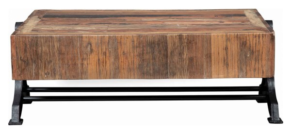Coaster Furniture Asherton Natural Black Coffee Table CST-721788