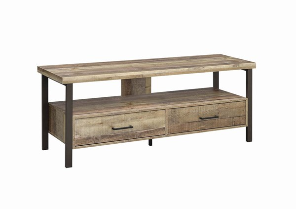 Coaster Furniture Weathered Pine 59 Inch TV Console CST-721881