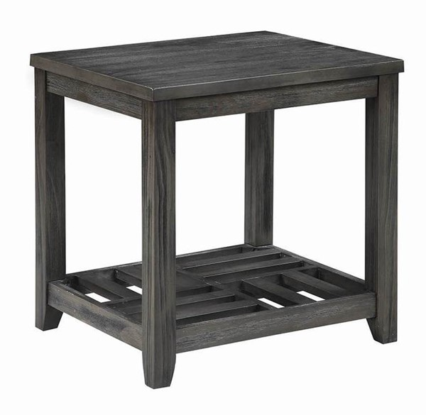 Coaster Furniture Grey Storage End Table CST-722287