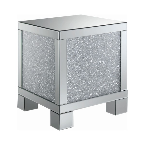 Coaster Furniture Clear Crystals End Table CST-722497