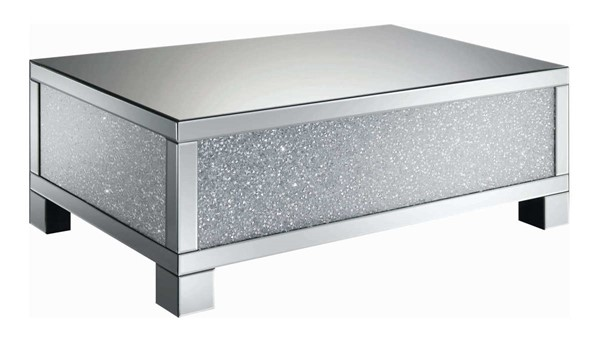 Coaster Furniture Clear Crystals Coffee Table CST-722498