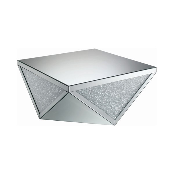 Coaster Furniture Clear Mirror Coffee Table CST-722508