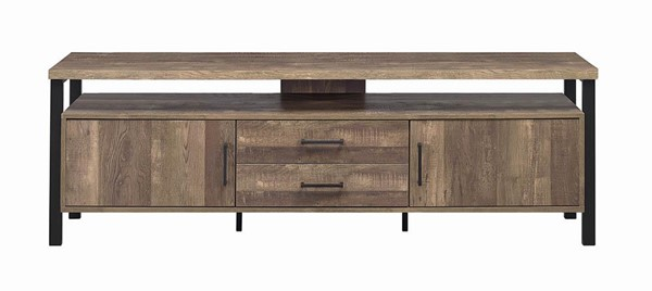 Coaster Furniture Oak 71 Inch TV Consoles CST-72256-TV-VAR1