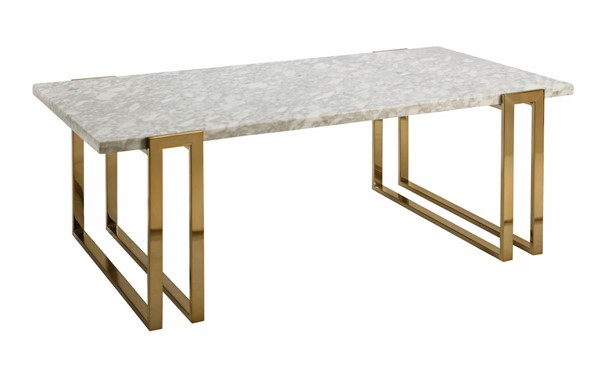 Coaster Furniture White Coffee Table CST-722738