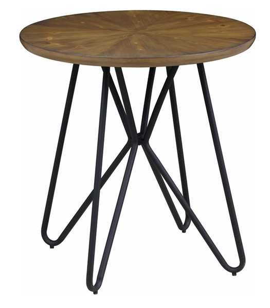 Coaster Furniture Dark Brown Wood End Table CST-722897