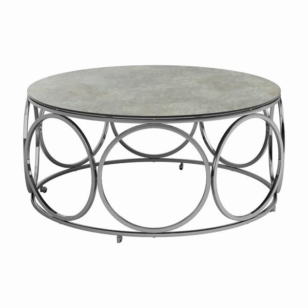 Coaster Furniture Beige Coffee Table CST-722928