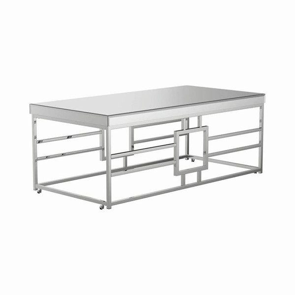 Coaster Furniture Chrome Coffee Table CST-723078