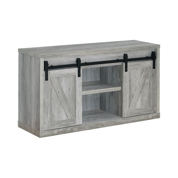 Coaster Furniture Grey Driftwood 48 Inch TV Console CST-723261
