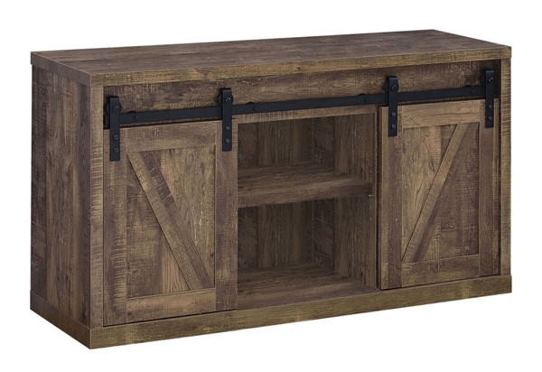 Coaster Furniture Rustic Oak 48 Inch TV Console CST-723271