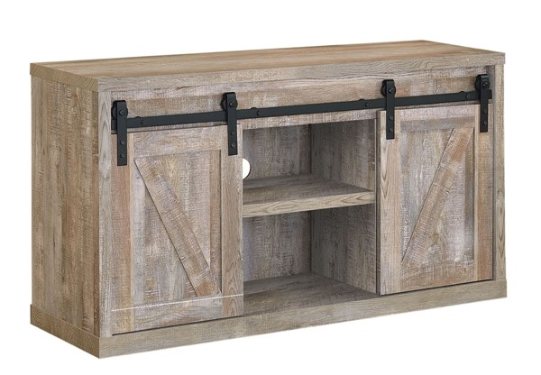 Coaster Furniture Weathered Oak 48 Inch TV Console CST-723281
