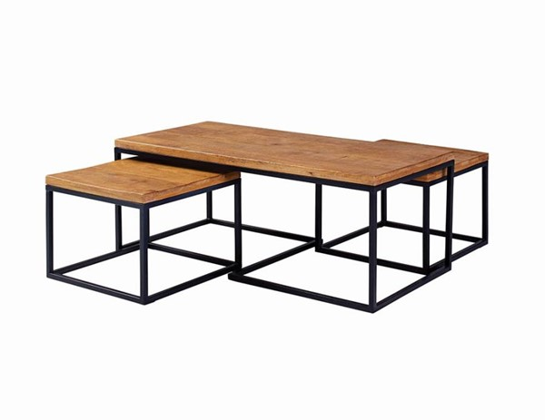 Coaster Furniture Natural Coffee Table CST-731193