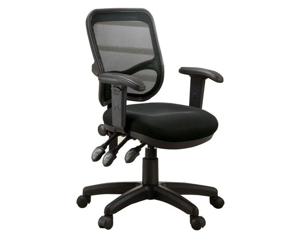 Coaster Furniture Black Mesh Back Office Chair CST-800019
