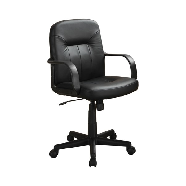 Coaster Furniture Black Adjustable Height Office Chair CST-800049