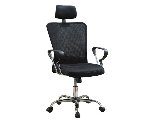 Coaster Furniture Black Metal Adjustable Height Office Chair CST-800206
