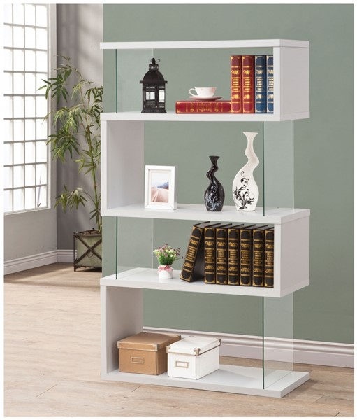 Coaster Furniture Wood 4 Tier Bookcases CST-800300-V