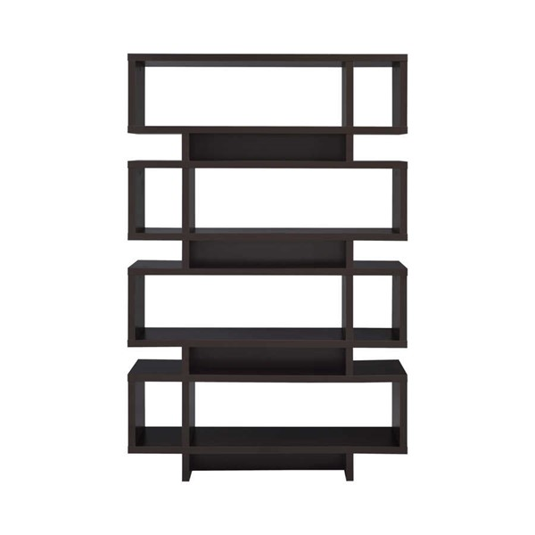 Coaster Furniture Cappuccino 4 Tier Bookcase CST-800307