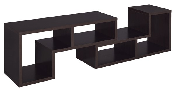 Coaster Furniture Cappuccino  Open Storage TV Console CST-800329