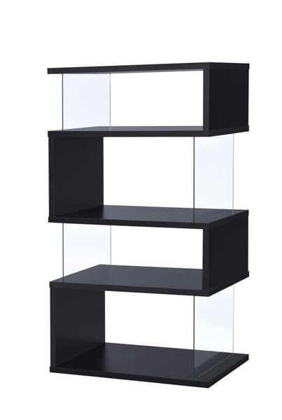 Coaster Furniture Black MDF 4 Tier Bookcase CST-800340