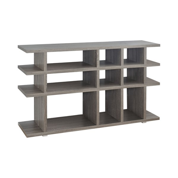 Coaster Furniture Weathered Grey MDF Bookcase CST-800359