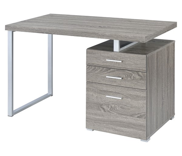 Coaster Furniture Hilliard Grey Writing Desk CST-800520