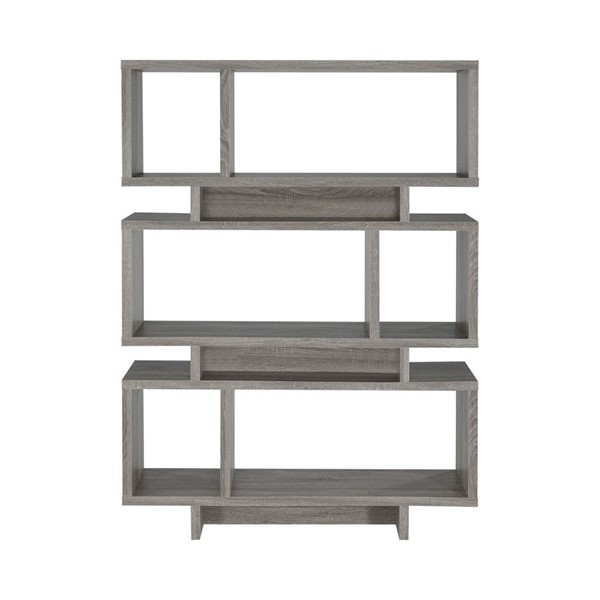 Coaster Furniture Weathered Grey Tall Bookcase CST-800554