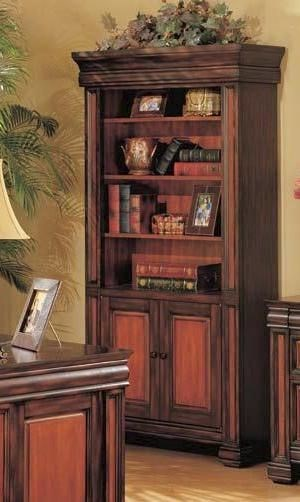 Traditional Wood Bookcase ( L 37 X W 15 X H 74 ) CST-800693