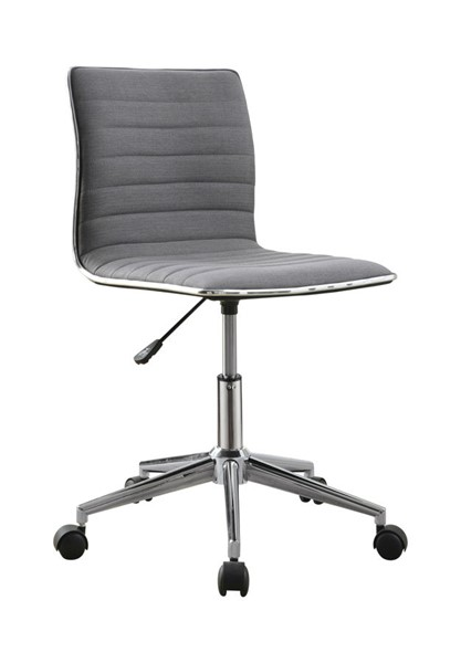 Coaster Furniture Grey Fabric Metal Office Chair CST-800727