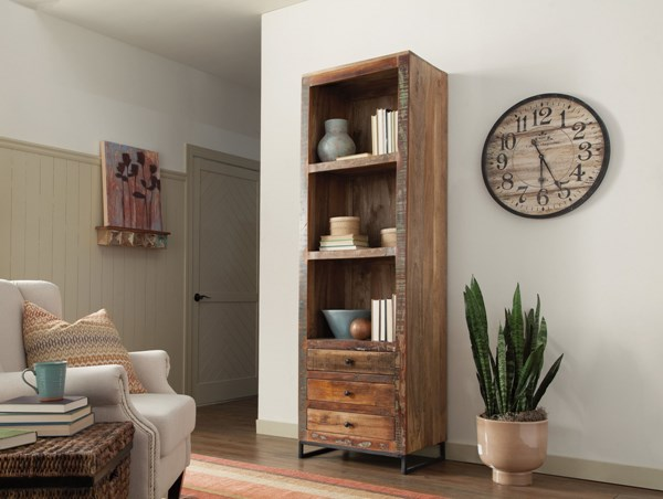 Coaster Furniture Natural Bookcase CST-800819