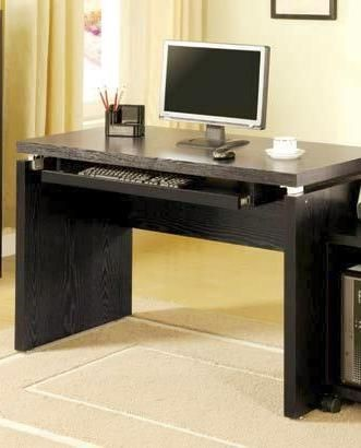 Coaster Furniture Black Wood Computer Desk CST-800821