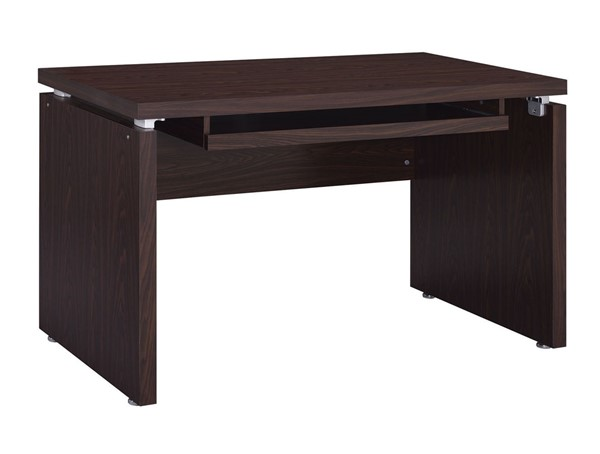 Coaster Furniture Medium Oak Keyboard Tray Computer Desk CST-800831