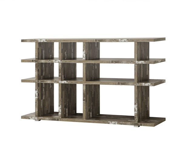Coaster Furniture Salvaged Cabin Wood Bookcase CST-800848
