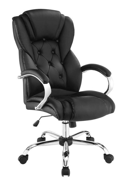 Coaster Furniture Black Tufted Back Office Chair CST-800879