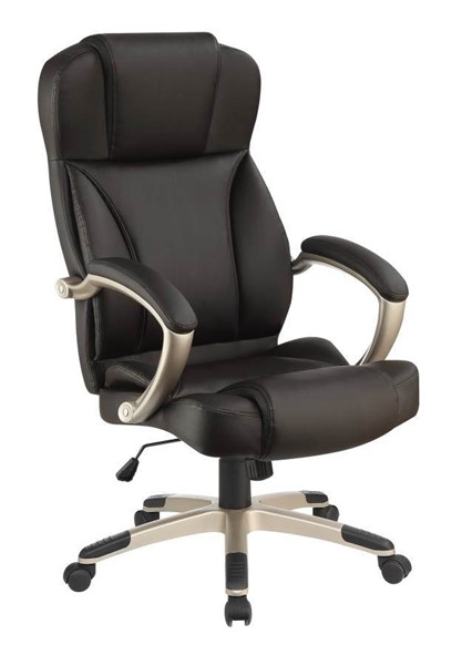 Coaster Furniture Dark Brown Champagne Office Chair CST-800880