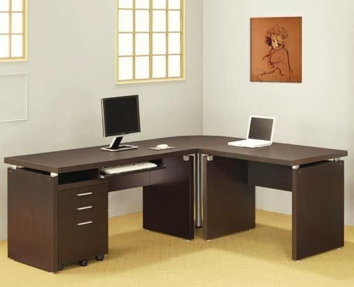 Contemporary Brown Wood Cappuccino Return CST-800892