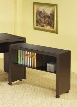 Coaster Furniture Skylar Cappuccino Mobile Return CST-800902