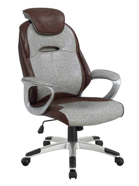 Coaster Furniture Brown Grey Office Chair CST-800939