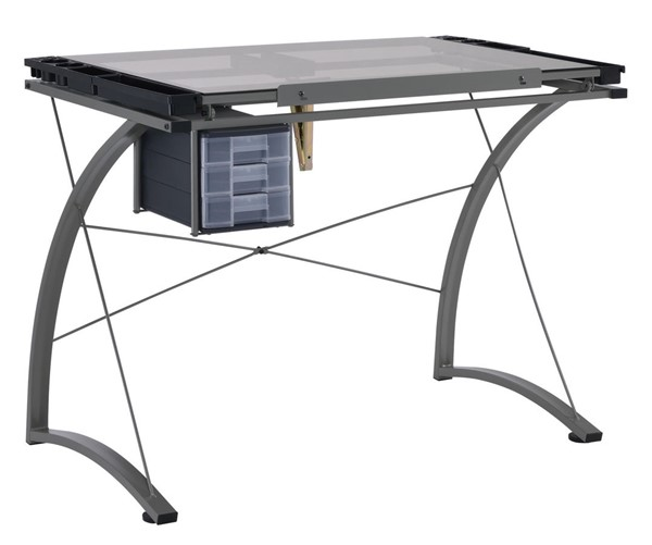 Coaster Furniture Champagne Drafting Desk CST-800986