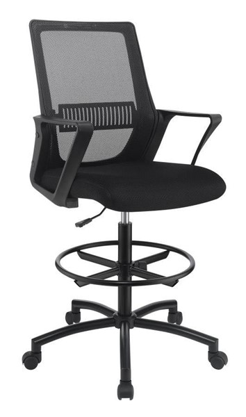 Coaster Furniture Black Mesh Metal Office Chair CST-801339